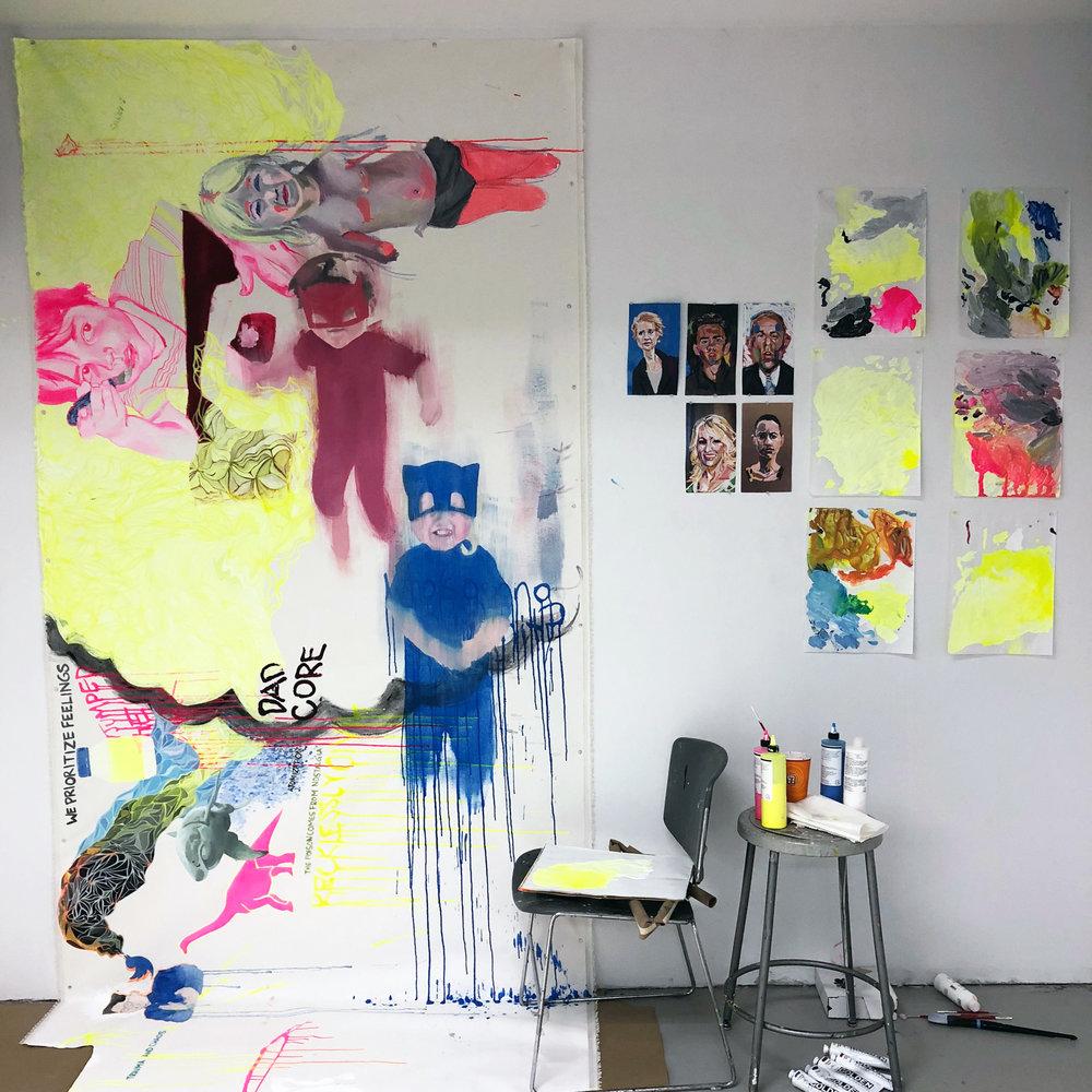 Ryan Sandison Montgomery - studio June 28 2018