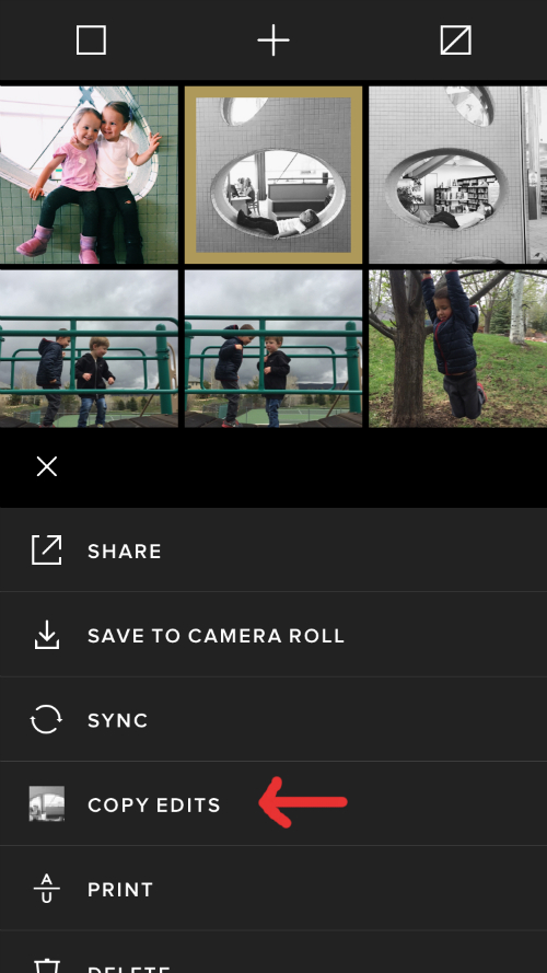 VSCO Cam Batch Editing Tips - Edit Multiple Photos at Once on Your Phone - www.mommatography.com
