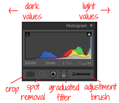 Understanding Lightroom Tools