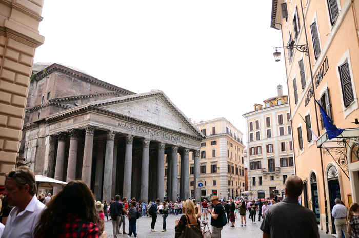 Photographing Rome - Roman Pantheon - Travel Photography Tips and Highlights from Rome & Paris