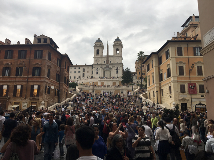 Pictures of Rome - The Spanish Steps - Tips for Taking Good Travel Photos
