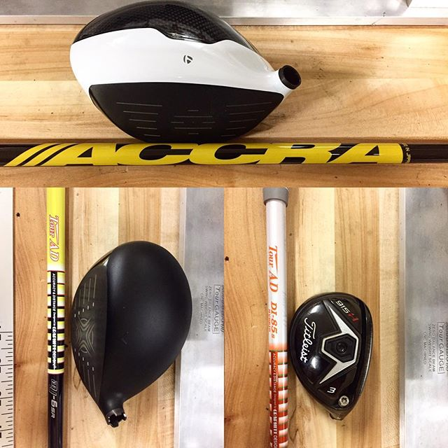 A few of our builds this weekend. It takes the right equipment to play better golf. Come get fitted and put and end to he guessing game! • • • • • #getfitted #customgolf #golfwrx #arizonagolf #customgolfclubs #azgolf #golfaz #golfdigesttop100 #clubfitting