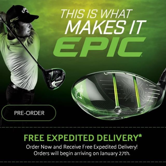 Epic is going to be epic. Contact us to learn more and place your order for the new @callawaygolf Epic drivers. • • • • #callaway #epic #customgolf #customfiitting #azgolf #golfdigesttop100 #golfaz