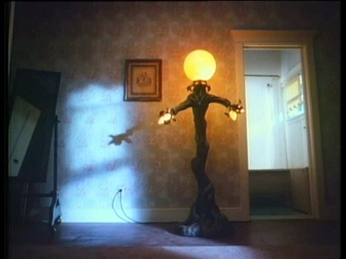 That damn lamp from  Amityville 4: The Evil Escapes.