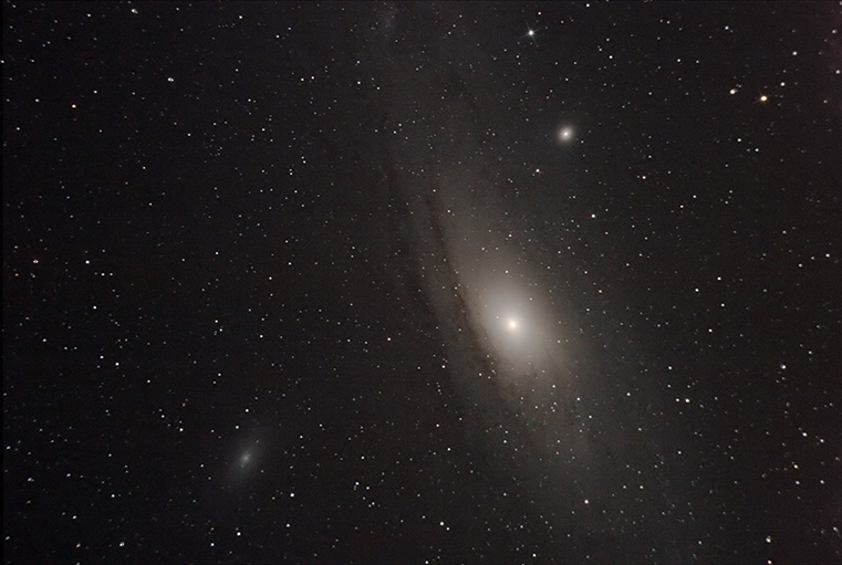 Andromeda Galaxy by Cestomanois  licensed under CC BY 2.0