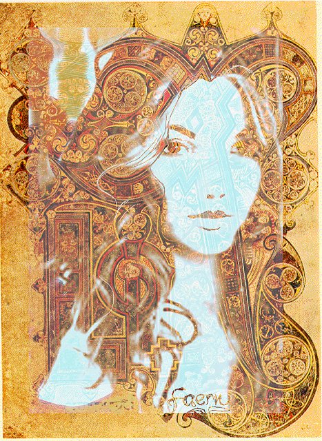 Celtic Princess, a portrait of once upon a time by Mystica_Art from Flickr