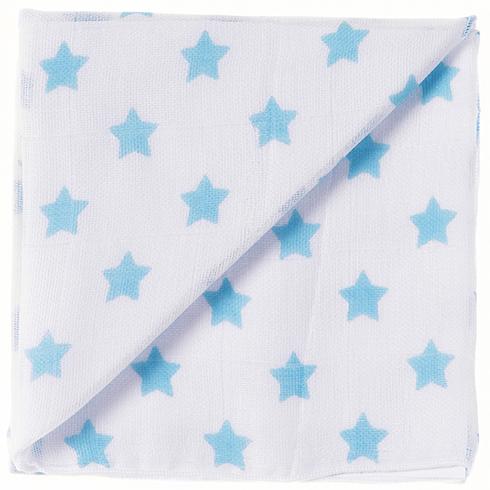 25 blanc/turquoise Étoiles