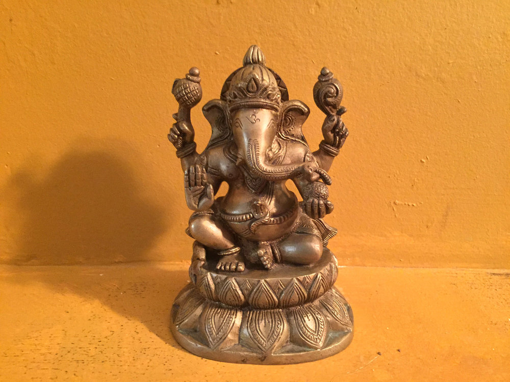 Ganesha, ghostwriter of the  Mahabharata