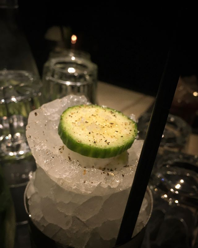 ~ this #cocktail was sublime at @kansas_smittys @sophie_j_music ~