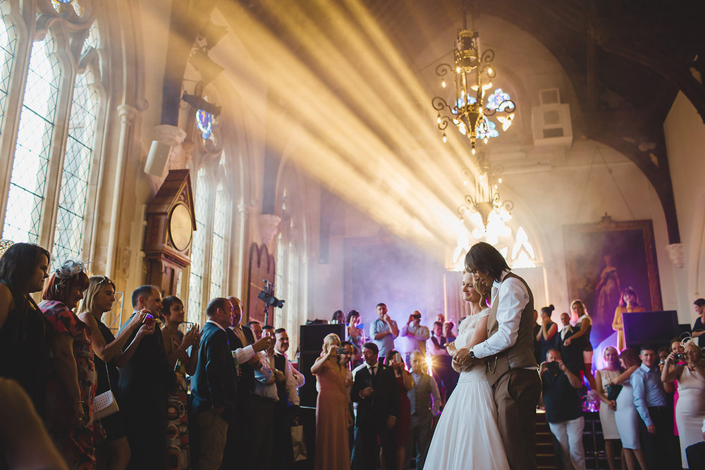 Michelle & Lee - The Great Hall - jersey