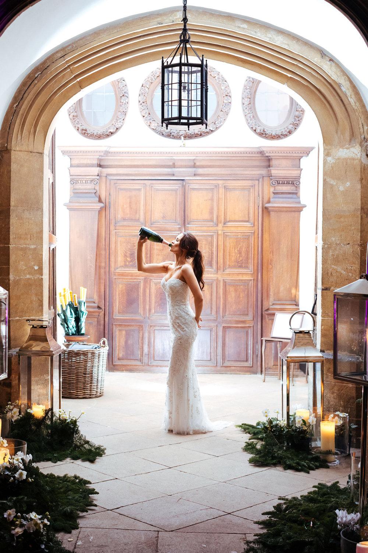 Verity & Laurie - Winter Wedding | Hengrave Hall UK
