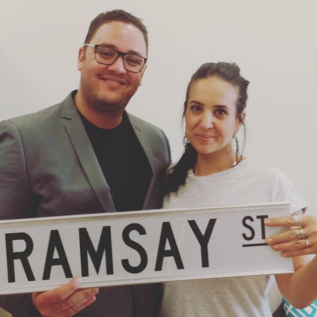 Congratulations to Travis and Vanessa!! She said yes while on tour on Sunday and he proposed at Lassiters Lake. The last girl who got proposed to there was Kate Ramsay @ashleighbrewer and she got shot. This one went alot better😄#neighbours #ramsaystreet #melbourne #bunyiptours #neighbourstour #neighboursfan #bling #happyday #love #lovethiscity @fletchy1 @scottymcgregor