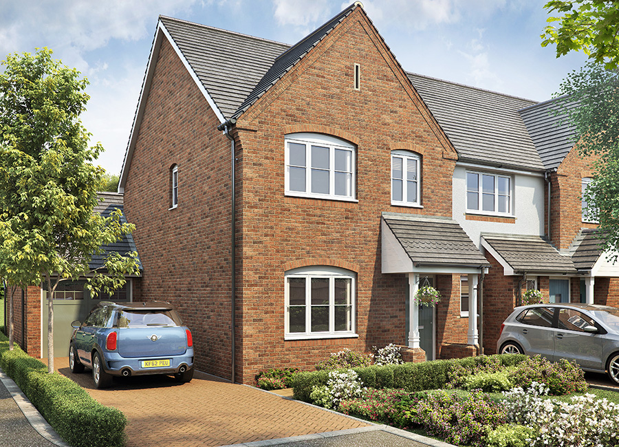 The Kinlet New Houses In Bromsgrove