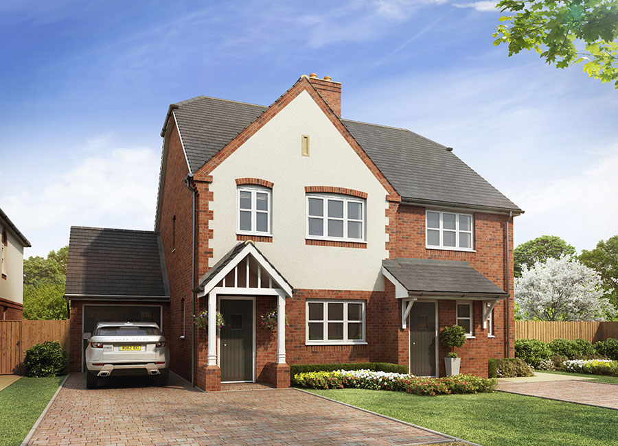 The Kinlet New Homes In Cropthorne