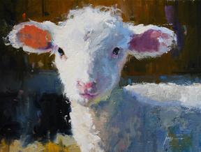 Terri's Lamb 9x12 oil.jpg