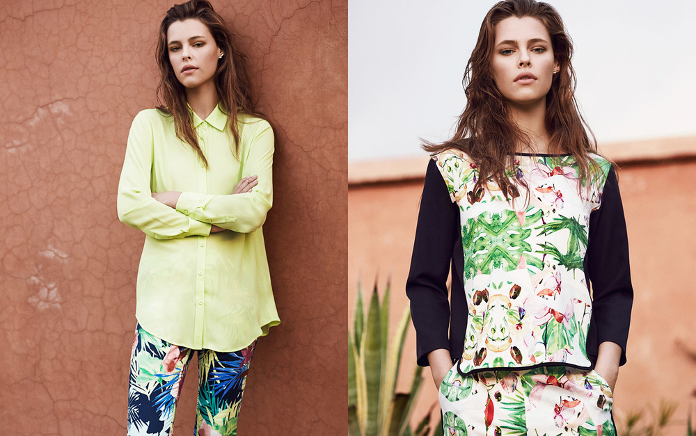 Daring prints &sea-side stripes–Spring Summer 2015's NICE PRICE collection