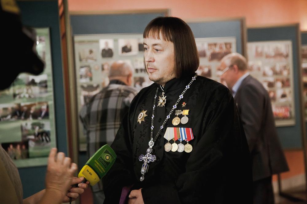 Протоиерей Константин Волков, бывший разведчик 781 ОРБ, автор-составитель книги «Афган. Баграм. Разведка»