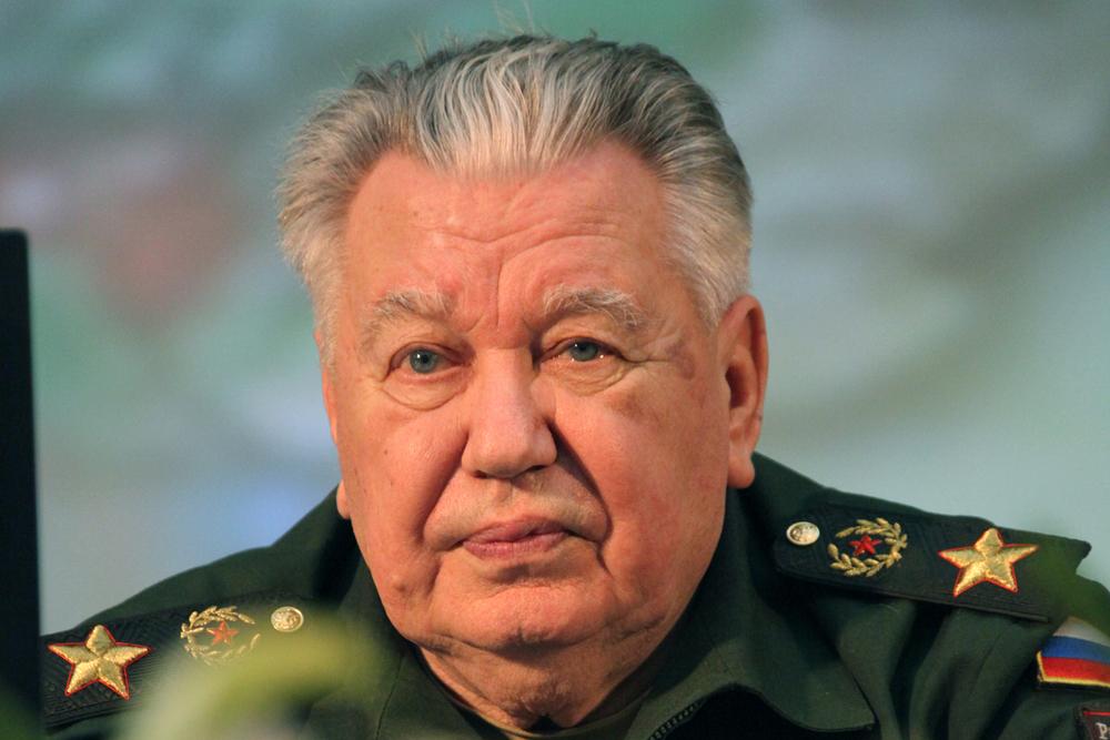 Генерал армии В.Ф. Ермаков
