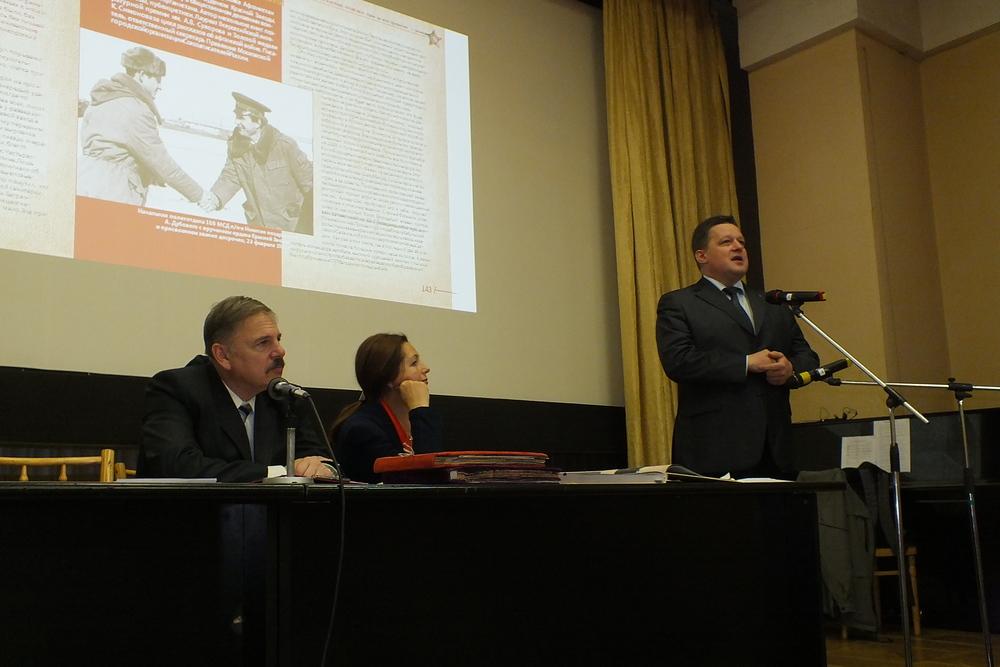 Игорь Альбертович Пермяков,  начальник Центрального архива Министерства  обороны РФ