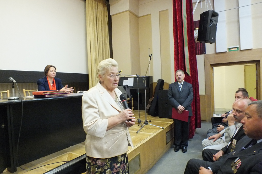 Надежда Александровна Макарьева, председатель Российского союза родителей воинов, погибших в локальных конфликтах