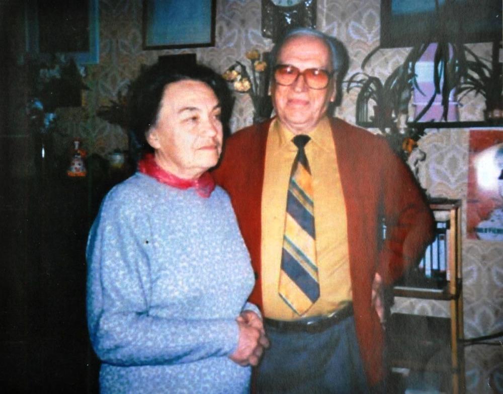 А.Ф. Семенко и С.А. Вронский. 1994 г.