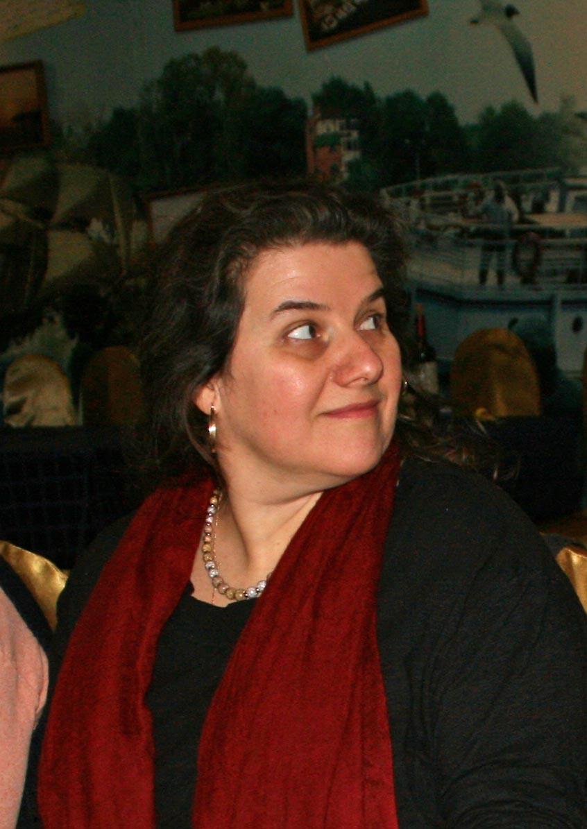 Главный редактор издательства «Мир Урании»Ирина Антонян.
