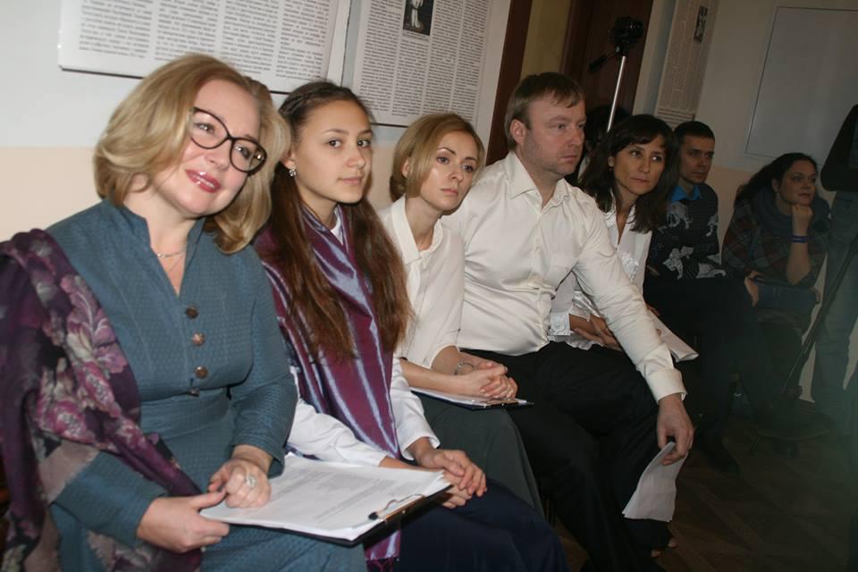 Актеры студии сценического слова Дома культуры г. Жуковского
