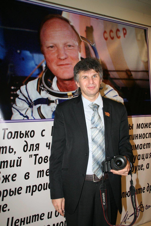 Журналист и художник Дмитрий Ярошевский
