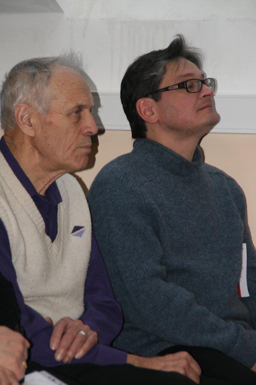 Л.Н. Попов и П. Крючков