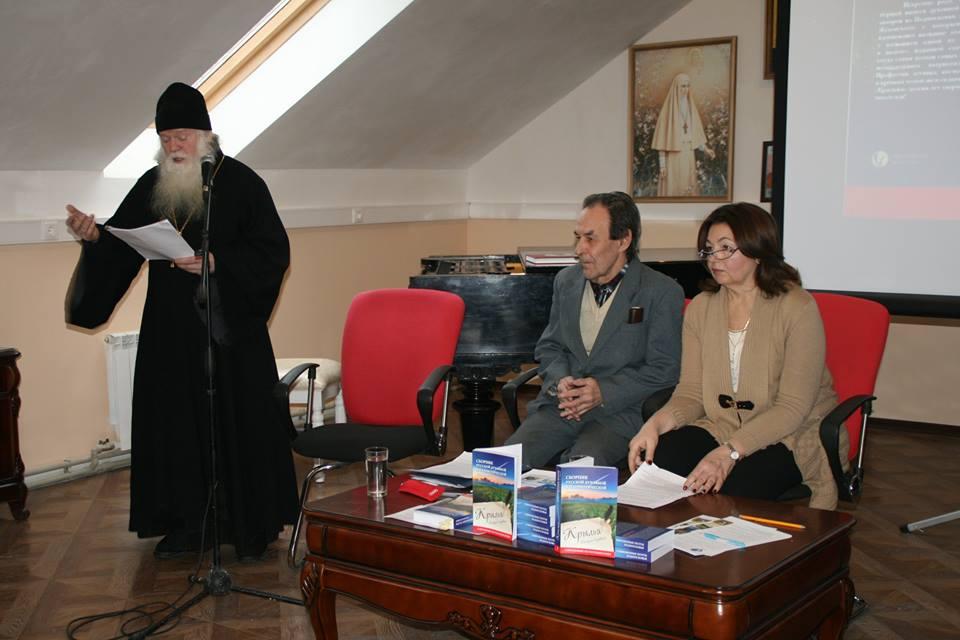 Встречу открывает благочинный жуковского благочиния протоиерей Николай Струков