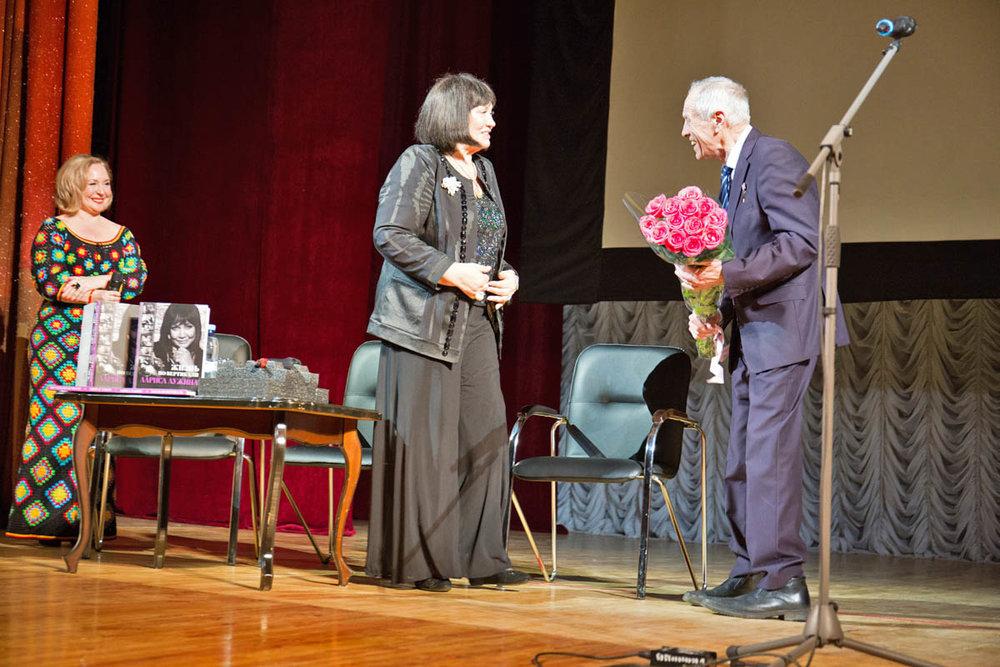 Творческий вечер Л. Лужиной в ДК г. Жуковского 22 апреля 2017 года. Фото А. Фроловой
