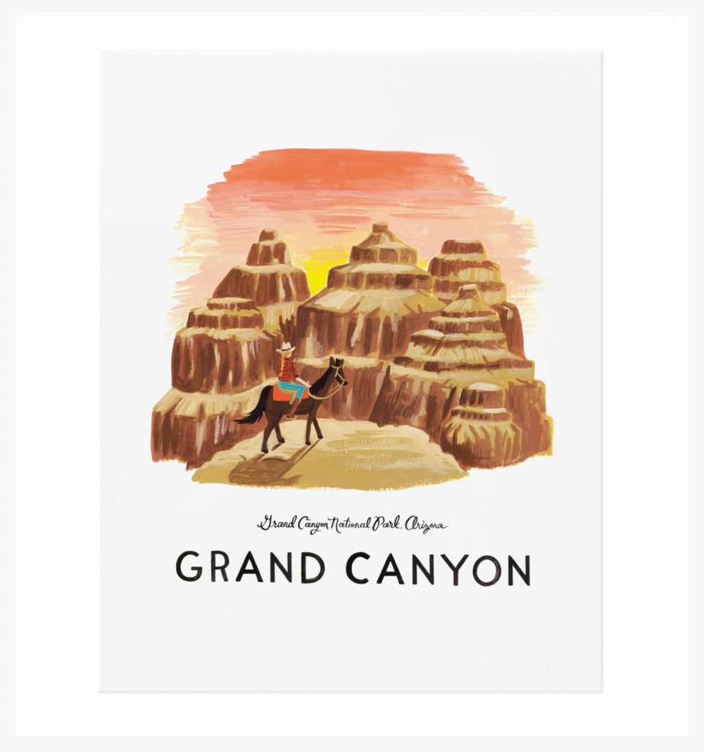 Grand Canyon, Rifle Paper Co