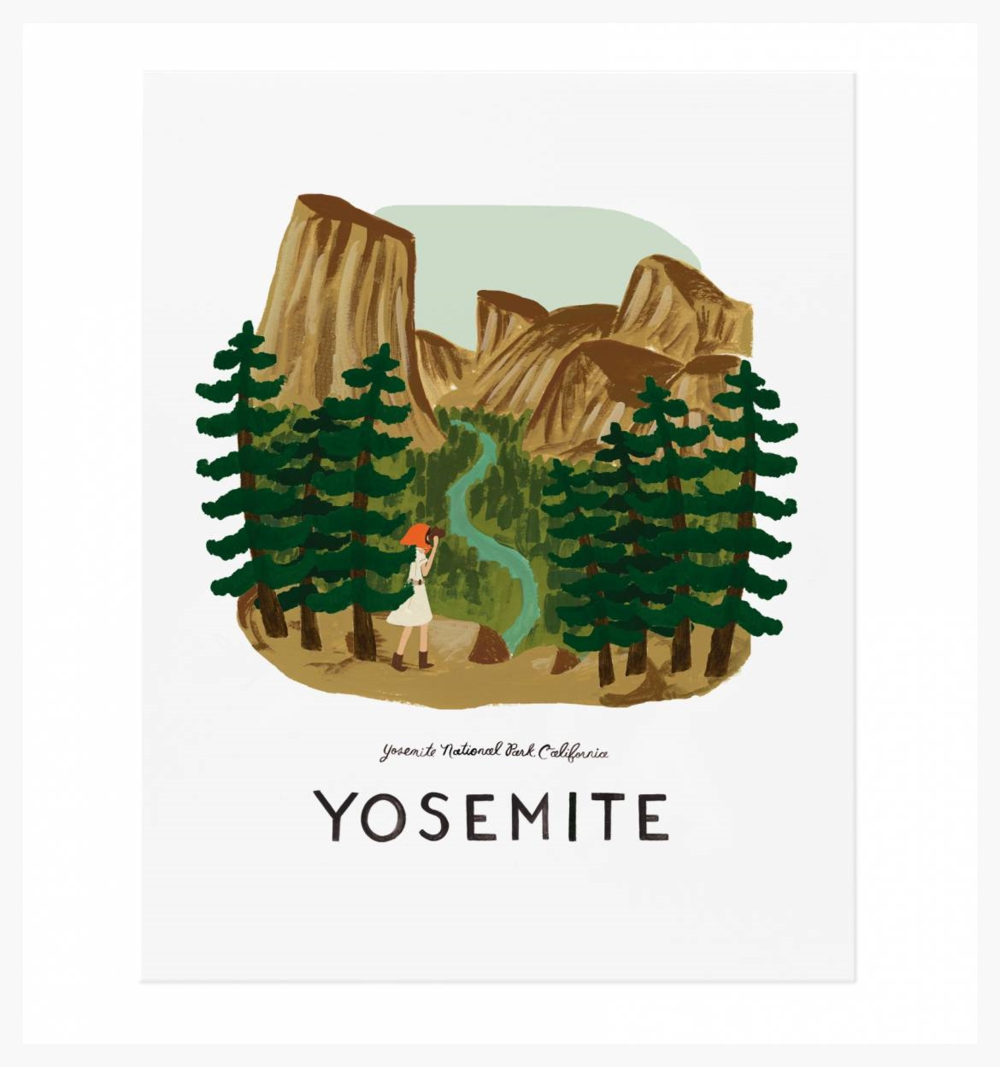 Yosemite, Rifle Paper Co
