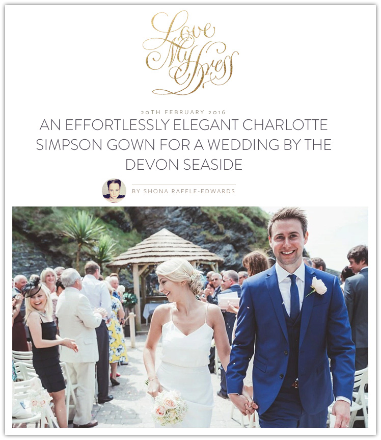 Offshore Blooms featured on love my dress