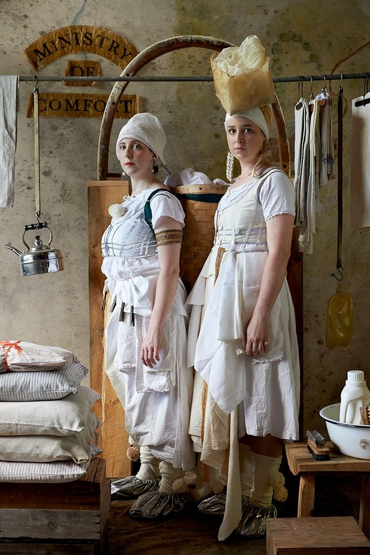Elizabeth Crawford & Isobel Lister: Ministry of Comfort;  Photographer Jeffrey Jenkins