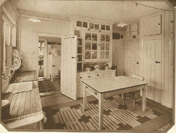 1940 homes interior of past present purcell 10010