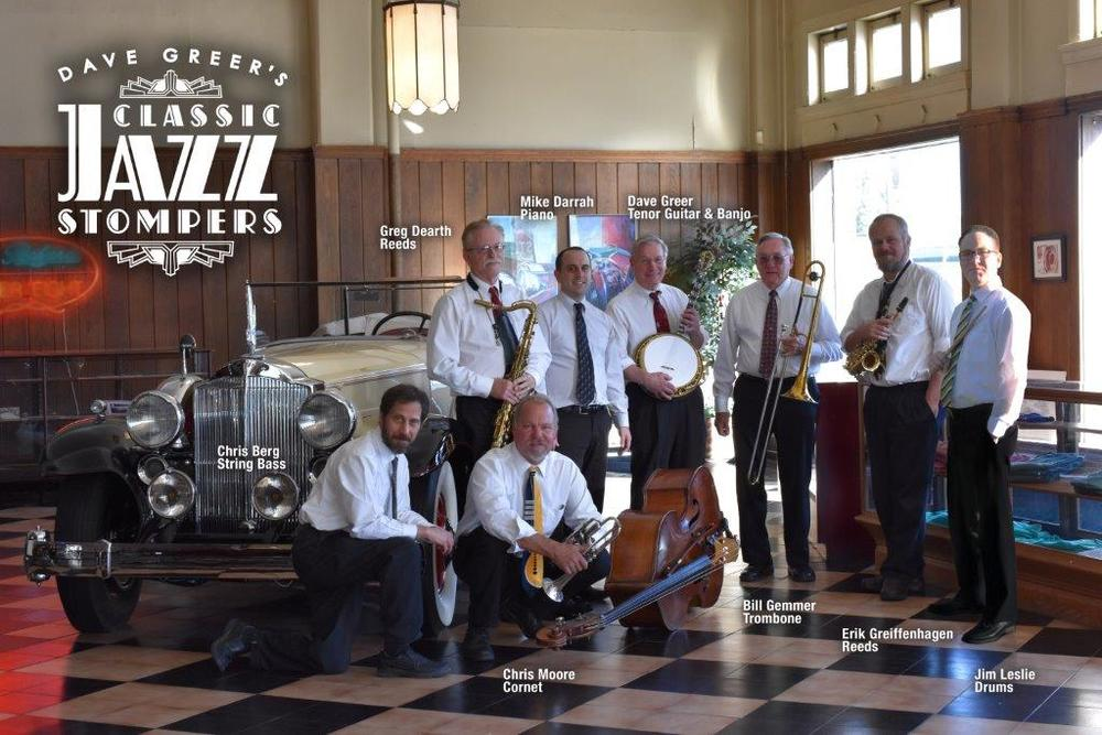 Dave Greer's Classic Jazz Stompers First time appearing at festival since 2013
