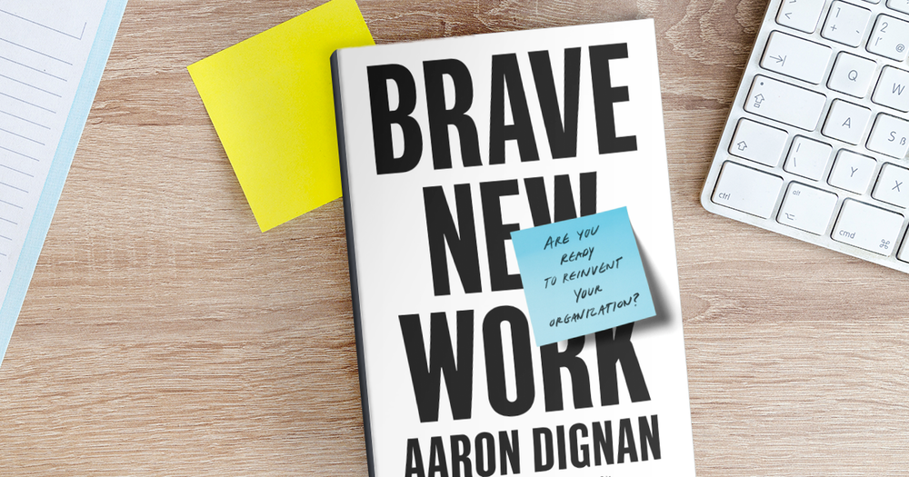 WHAT'S STOPPING US FROM DOING THE BEST WORK OF OUR LIVES?   It's the way we work. Bureaucracy. Hierarchy. Compliance. Everything that slows us down and makes us feel less human. Our organizations are broken. And we can fix them. Find out how in  Brave New Work.