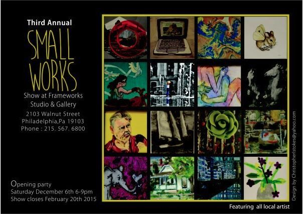 Third Annual Small Works Exhibition December 2014 - February 2015