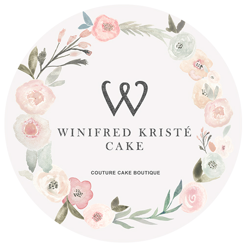 Winifred Kriste Cake - A couture cake boutique, established in 2015, offering customised designer cake pieces for your most important events. With hand-painted cakes and sugar flowers as its hallmark, their meticulous dedication is bound to adorn and amplify the beauty and elegance in every cake.