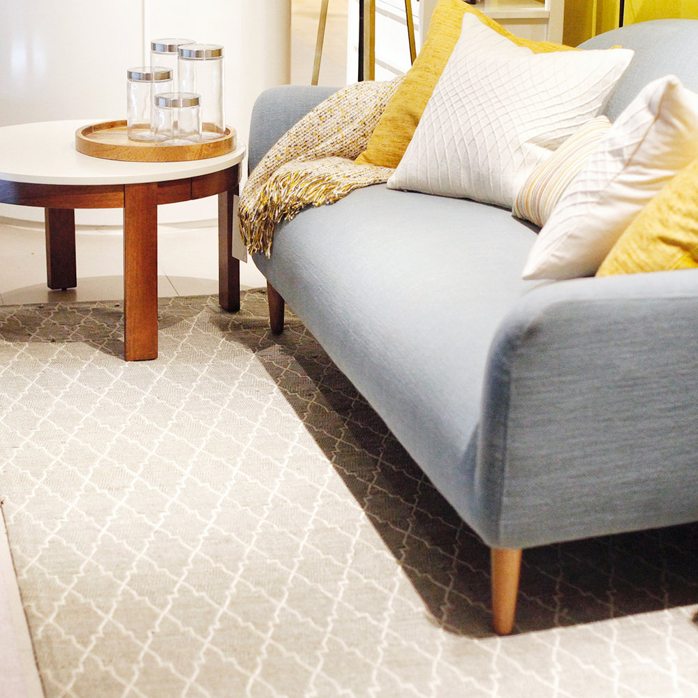 Rugs for added comfort. - Comfort is key for anyone hosting their guests at home. Not only does a great rug help create a unison look in an area, it also provides added comfort by making your living room feel more inviting.