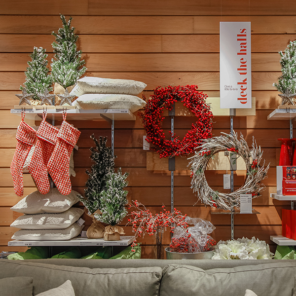 Bring on the fa la la la la - It's the most wonderful time of the year. Shop new Christmas Holiday items in our stores today.