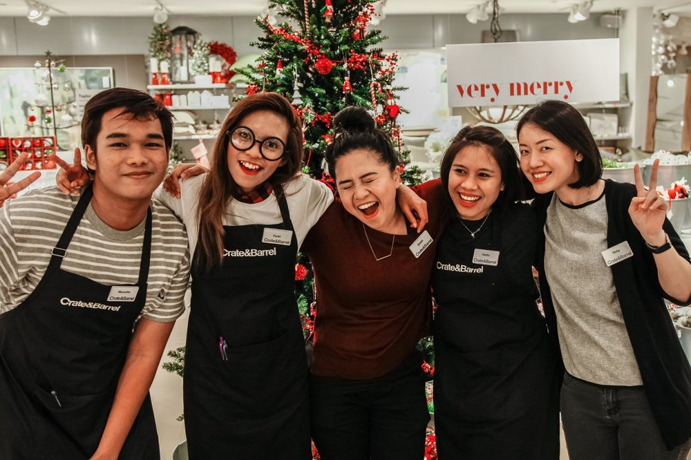 Crate and Barrel Career Singapore