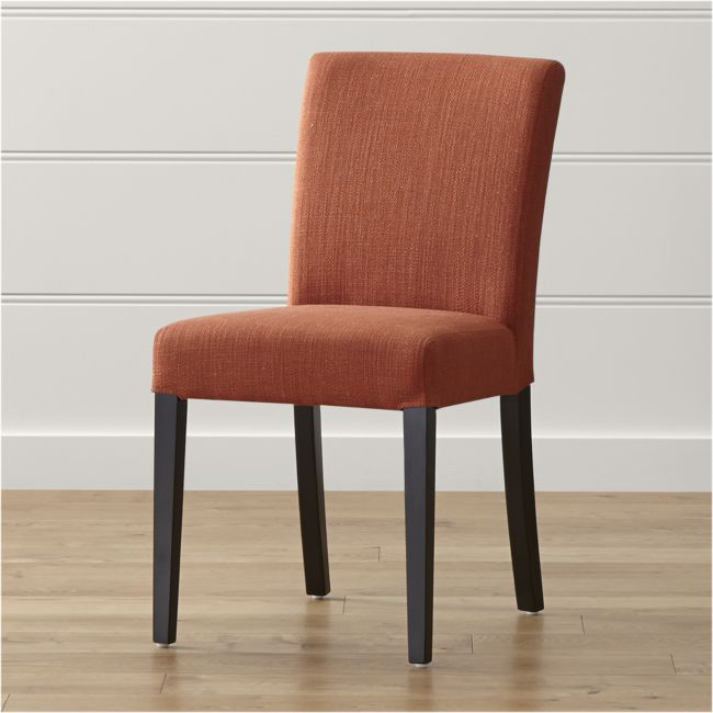 Lowe Persimmon Upholstered Dining Chair - Reg $349 Sale $199.50