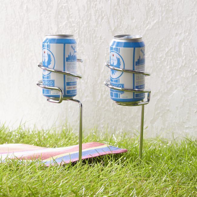 Steady Stick Beer Can Holders S/2 - Reg $23.95 Sale $11.50