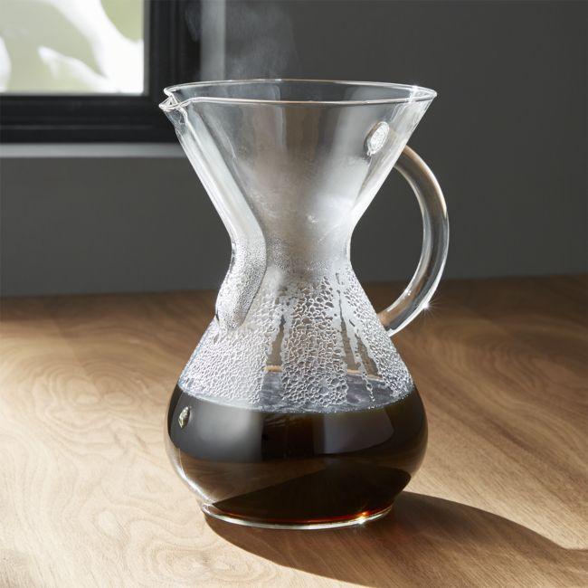 CHEMEX Glass Handle Coffee Maker - Reg $94.95 Sale $56.50