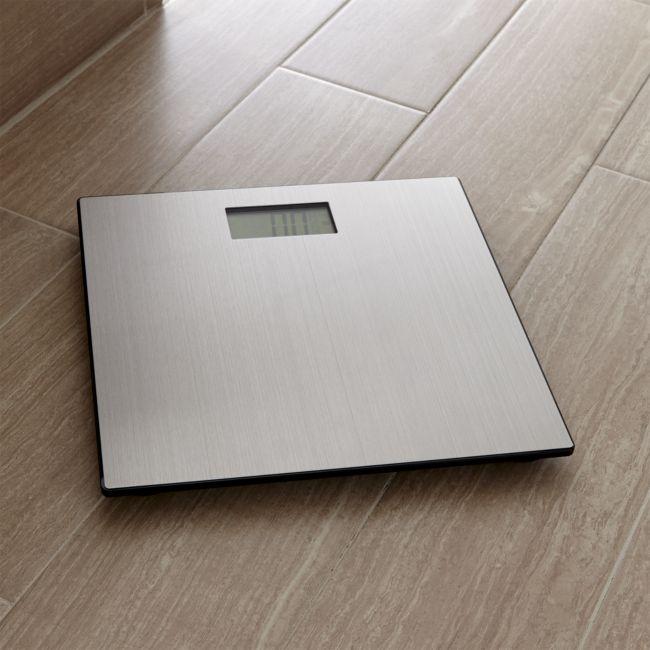 Stainless Digital Bath Scale - Reg $99.95 Sale $49.50