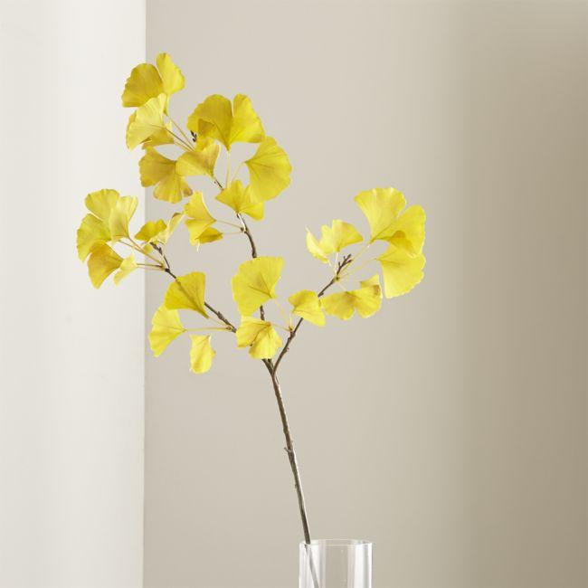 Gingko Stem Yellow - Reg $24.95 Sale $10.50