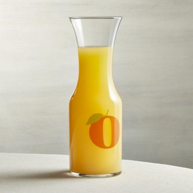 Orange Juice Carafe - Reg $14.95 Sale $5.50