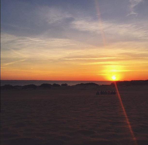 Sunset at Jockey's Ridge